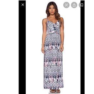 Amanda Uprichard 100% silk maxi dress